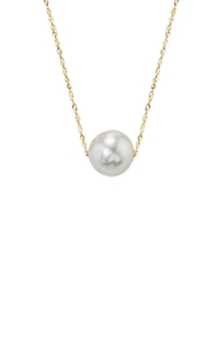 Albert's 14k Yellow Gold Freshwater Pearl Pendant NY01628PF product image