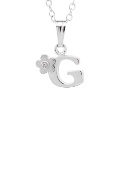 Albert's Sterling Silver Child Letter G Necklace P203A-P203Z product image