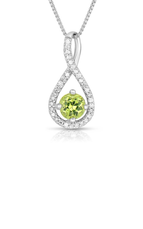 Albert's Sterling Silver Peridot Necklace P2718-PER-SS product image