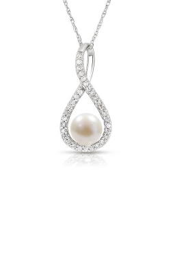 Albert's Sterling Silver Pearl Necklace P2718-PRL-SS product image