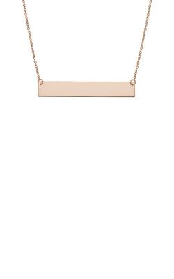 Albert's 14k Rose Gold Bar Necklace PBAR25-18 product image
