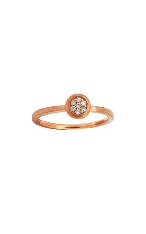 Albert's 14k Rose Gold .08ctw Diamond Ring PC4536D product image
