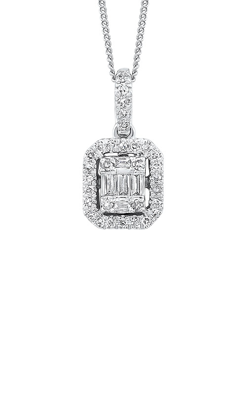 Albert's 14k White Gold 1/3ctw Diamond Necklace PD10217-4WC product image