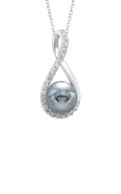 Albert's Silver Pearl Necklace PD10231-SSW product image