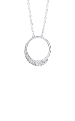 Albert's Sterling Silver CZ Circle Earrings ER10302-SSW product image