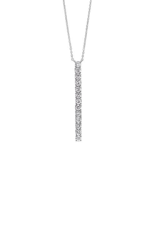 Albert's 14k White Gold 1/2ctw Diamond Stick Necklace PD10522-4WC product image