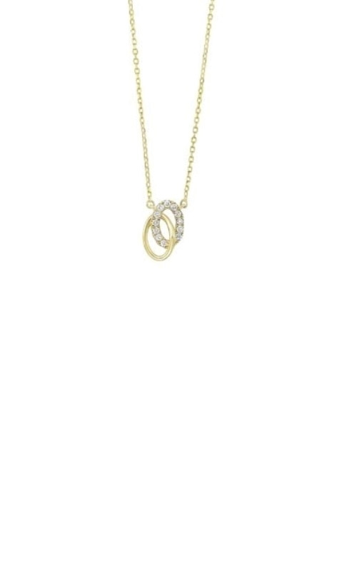 Albert's 14k Yellow Gold Oval Necklace PD32543-4YD product image