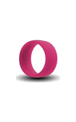 Albert's Pink Silicone Band Size 4 SILICONE4-PINK product image