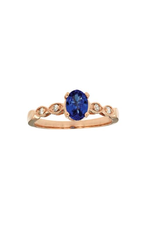 Albert's 14k Rose Gold .93ctw Tanzanite and Diamond Ring W3835SP product image