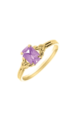 Albert's 10k Yellow Gold Child Rhodolite Ring R572ALX - Size 4 product image