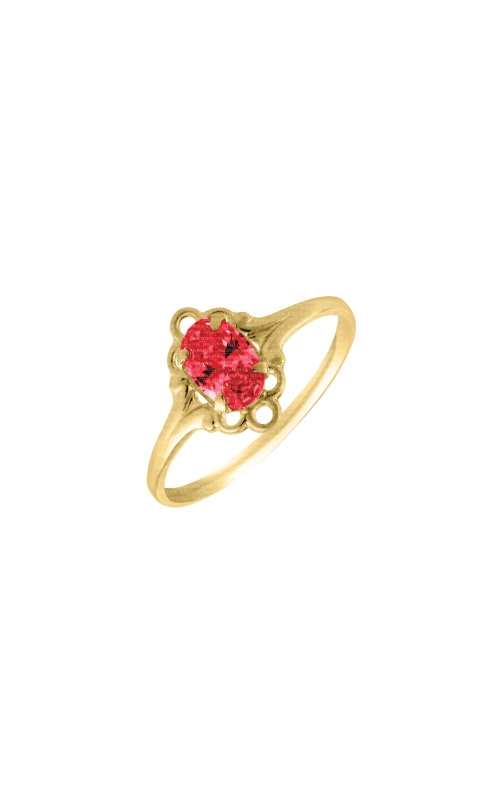 Albert's 10k Child Ruby Ring R74407 - Size 4 product image