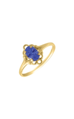 Albert's 14k Yellow Child Blue Sapphire Ring R74409 product image
