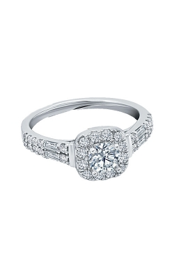 Albert's 14k White Gold 1ctw Diamond Engagement Ring RB-8027LSA45RW4S product image