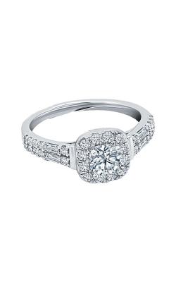 Albert's 14k White Gold 1ctw Diamond Engagement Ring RB-8027LSA45RW4S product image