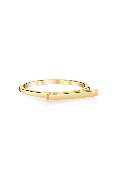 Albert's 14k Yellow Gold Bar Ring RBAR1-7 product image