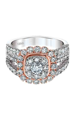 Albert's 14k White & Rose Gold 2ctw Engagement Ring RE-10550A68T4 product image