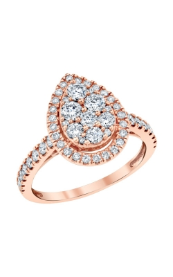 Albert's 10k Rose Gold 1ctw Diamond Engagement Ring RE-12246BBA68POS product image