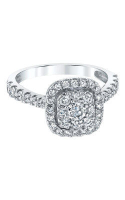 Albert's 10k White Gold 1ctw Engagement Ring RE-12278BBA68W0S product image