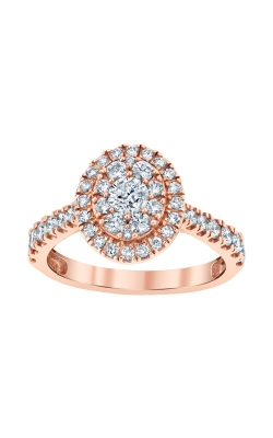 Albert's 10k Rose Gold 1ctw Diamond Engagement Ring RE-12279BBA68P0S product image