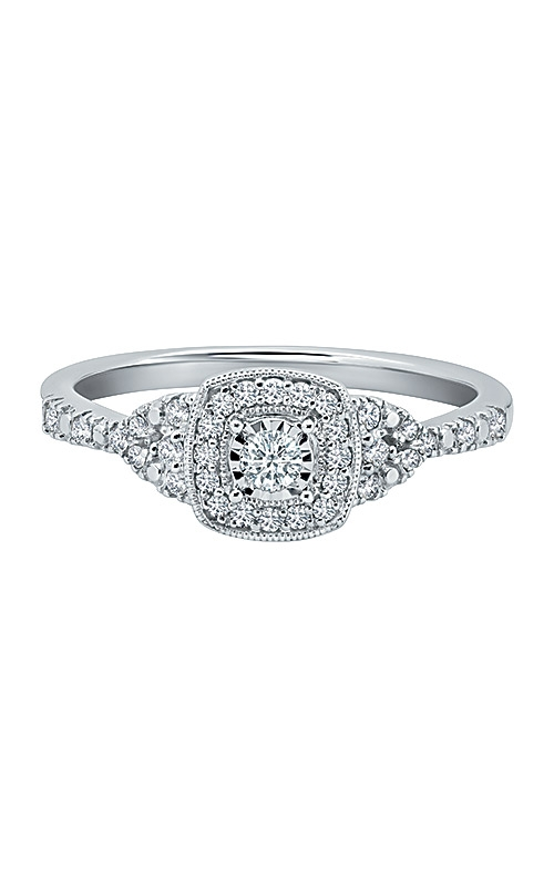 Albert's 10k White Gold 1/4ctw Promise Ring RE-13158TPA78W0S product image