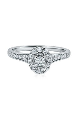 Albert's 10k White Gold 1/4ctw Oval Promise Ring RE-13388TPA78W0S product image