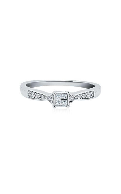 Albert's 10k White Gold 1/6ctw Diamond Promise Ring RE-2271-WPRQ10 product image