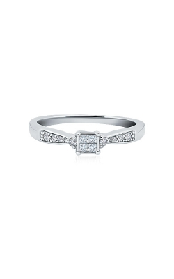Albert's 10k White Gold 1/6ctw Diamond Promise Ring RE-2271-WPRQ10 product image