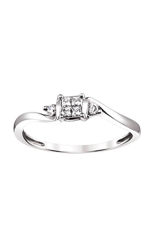 Albert's 10k White Gold .10ctw Promise Ring RE-2312TPA77-0W product image