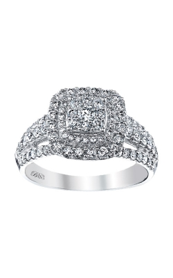 Albert's 10K White Gold 1/2ctw Diamond Engagement Ring RE-9061PRW0 product image