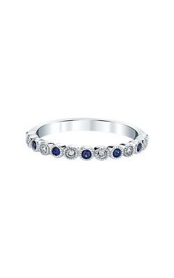 Albert's 14k White Gold Sapphire Band RF1348-S42W product image