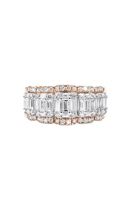 Albert's 14k White and Rose Gold 1 5/8ctw Diamond Band RG10049-4WPA product image