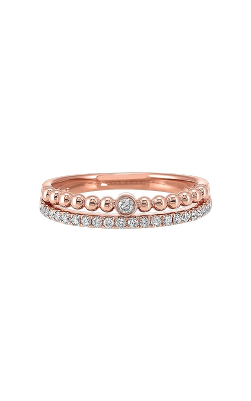 Albert's 14k Rose Gold 1/5ctw Diamond Ring RG10612-4PC product image
