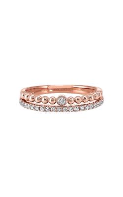 Albert's 14k Rose Gold 1/5ctw Diamond Ring RG10612-4PC product image
