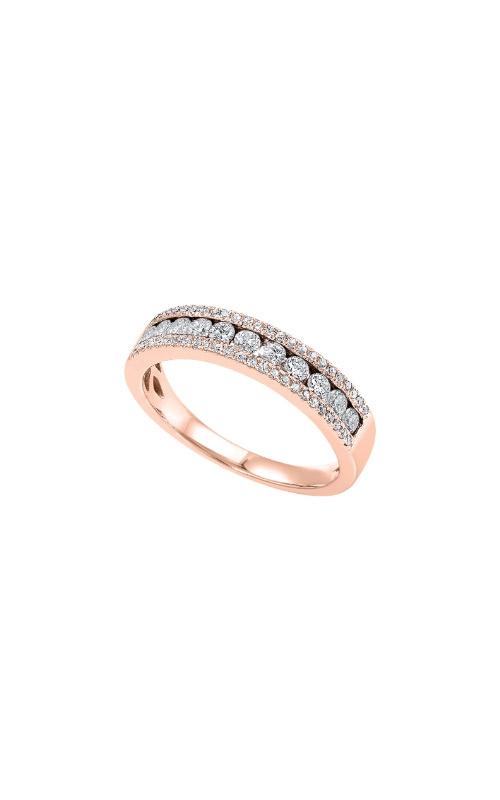 Albert's 14k Rose Gold 1/2ctw Diamond Wedding Band RG10636-4PB product image