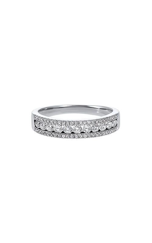 Albert's 14k White Gold 1ctw Diamond Wedding Band RG10646-4WB product image