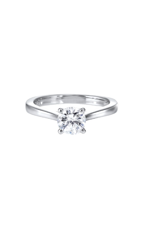 Albert's 14k White Gold 1/4ct Diamond Solitaire Engagement Ring RG10789-4WD  product image