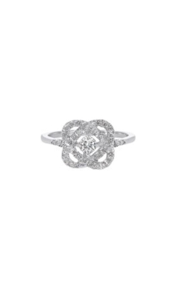 Albert's 14k White Gold 1/4ctw Diamond Ring RG10834-4WF product image