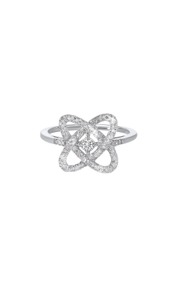 Albert's Sterling Silver 1/4ctw Diamond Ring RG10834-SSF product image