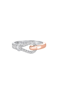Albert's 14k White And Rose Gold 1/5ctw Diamond Ring RG10894-4WPC product image