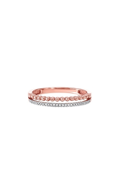 Albert's 10k Rose And White Diamond Band RG10996-1PSC product image