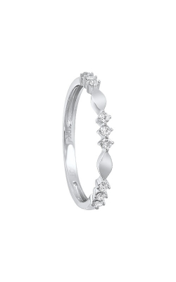 Albert's 10k White Gold Diamond Ring RG10999-1WD product image