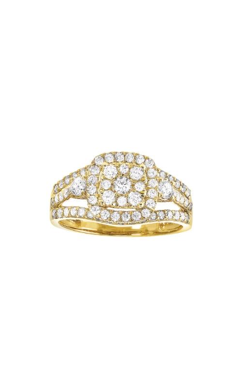 Albert's 14k Yellow Gold 1ctw Diamond Engagement Ring RG11002-4YD product image