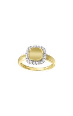 Albert's 14k Yellow Gold 1/5ct Diamond Disc Ring RG11015-4YC product image