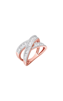 Albert's 14k Rose Gold 1ctw Diamond Ring RG11019-4PC product image