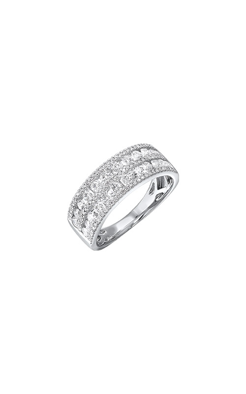 Albert's 14k White Gold 1ctw Diamond Band RG11023-4WC product image
