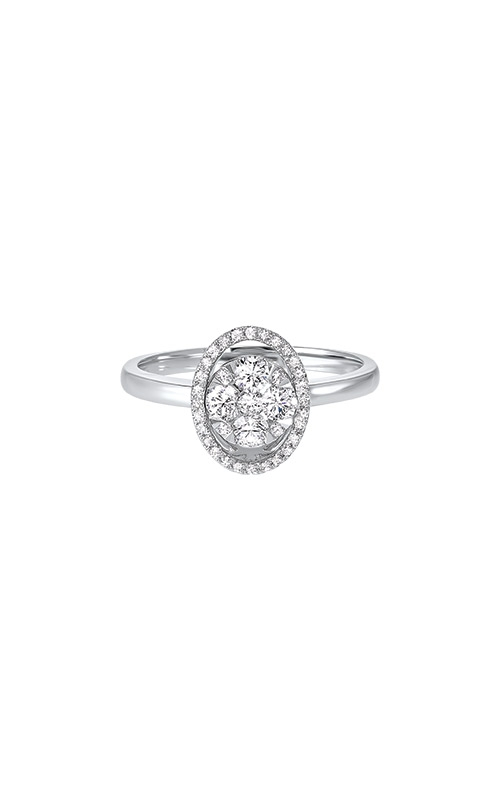 Albert's 14k White Gold 1/2ctw Diamond Engagement Ring RG11024-4WC product image