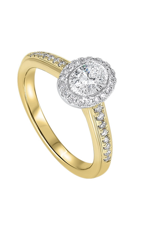 Albert's 14k Yellow Gold 5/8ctw Oval Diamond Ring RG63188-4WYB product image