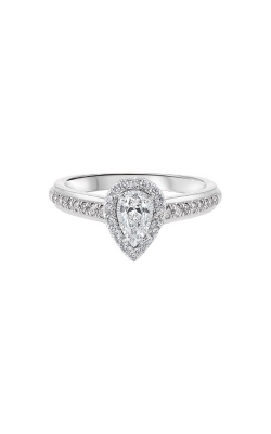 Albert's 14k White Gold 1/2ctw Pear Diamond Engagement Ring RG63189-4WB product image