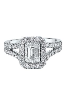 Albert's 14k 3/4ctw Emerald Engagement Ring RG69969-4WB product image
