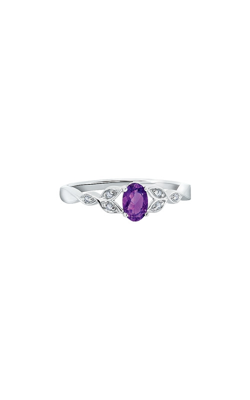 Albert's Sterling Silver Amethyst Ring RM7343-AM-SSAS43-7 product image